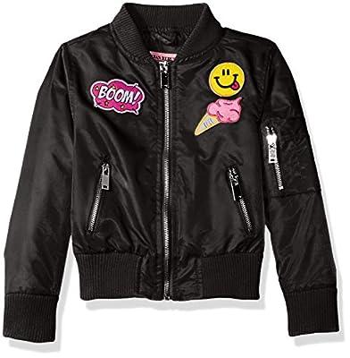 Urban Republic Girls' Poly Twill Bomber Jacket