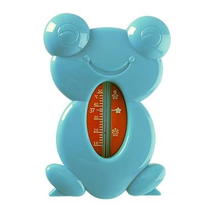 Beautygoods The Baby Bath Termómetro Seguro flotante Medidor de temperatura del agua Digital Toy Frog Medición