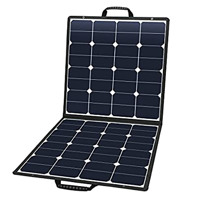 Suaoki Solar Charger with Portable SunPower Solar Panel