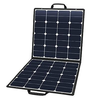 Suaoki Solar Charger with Portable SunPower Solar Panel