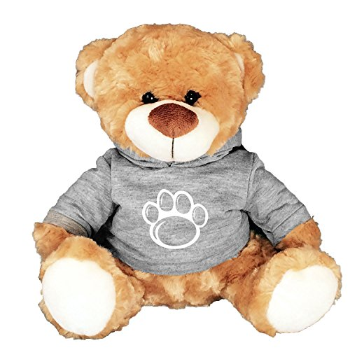 new product 61208 3b6bc Mascot Factory Penn State Nittany Lions Teddy Bear with Grey T Shirt with Penn  State Logo