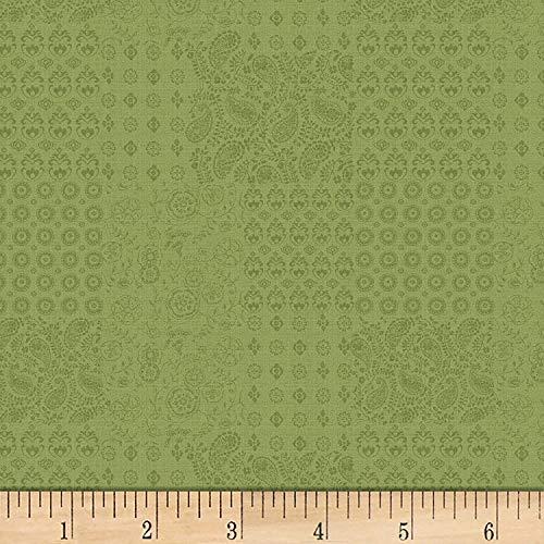 - David Textiles Bohemian Kerchief Apple Fabric Pre-Cut 1 Yard
