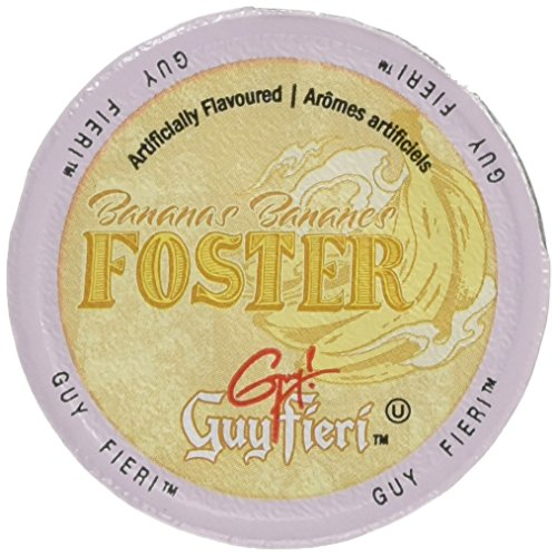 Guy Fieri Flavortown Roasts Coffee, Bananas Foster, 24 Count (Best Cinnamon Rolls San Francisco)