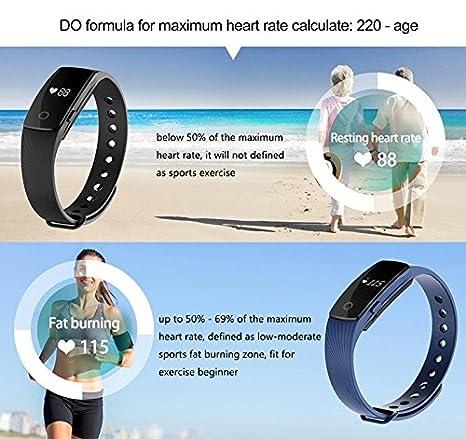 Pulseras de fitness,Smart band pulso Monitor Pulsera Fitness ...