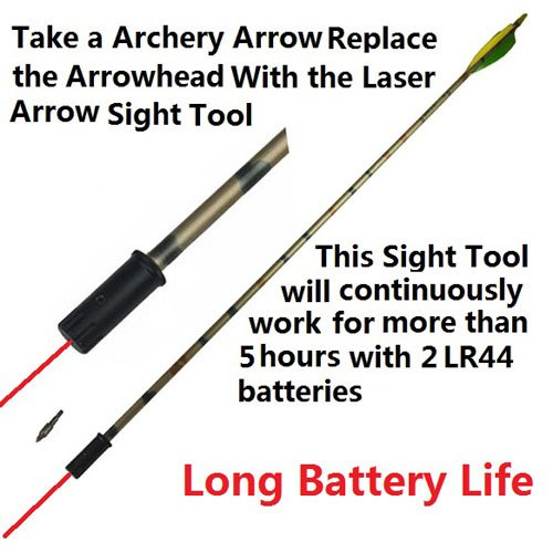 GRG Archery Laser Sight Tool for Bow and Crossbow, Accurate and Long Battery Life FSI NA