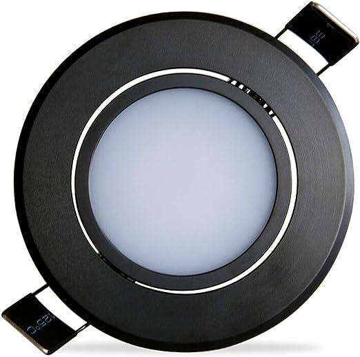 3W RECESSED Ultra Slim LED Panel Light 85MM Warm 10 Pack