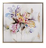 IMAX 76281 Delicate Framed Oil Painting, Multi