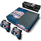 FriendlyTomato Xbox One Console and Controller Skin Set – Basketball NBA – Xbox One Vinyl For Sale