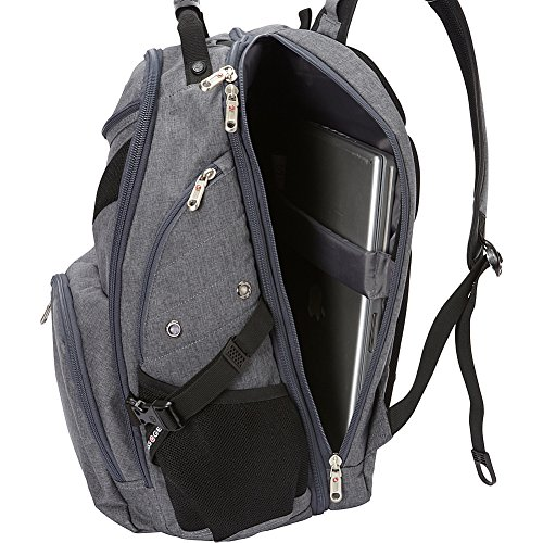 SwissGear Travel Gear 5977 Laptop Backpack- (Grey) by Swiss Gear (Image #6)