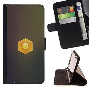 KingStore / Leather Etui en cuir / Sony Xperia Z2 D6502 / Cubo simple