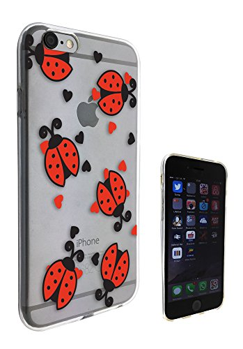 c0122 - Cool Fun Multi ladybug Design Pour iphone 5C Protecteur Coque Gel Rubber Silicone protection Case Coque