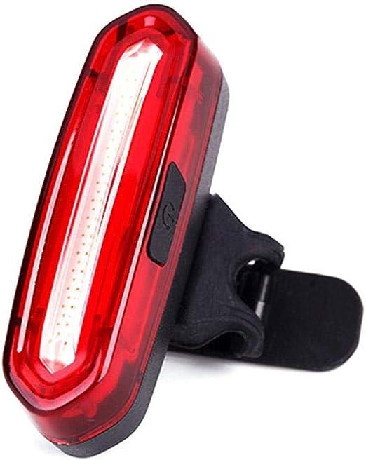 Duhe - Luz Trasera para Bicicleta (luz ultrabrillante, USB ...