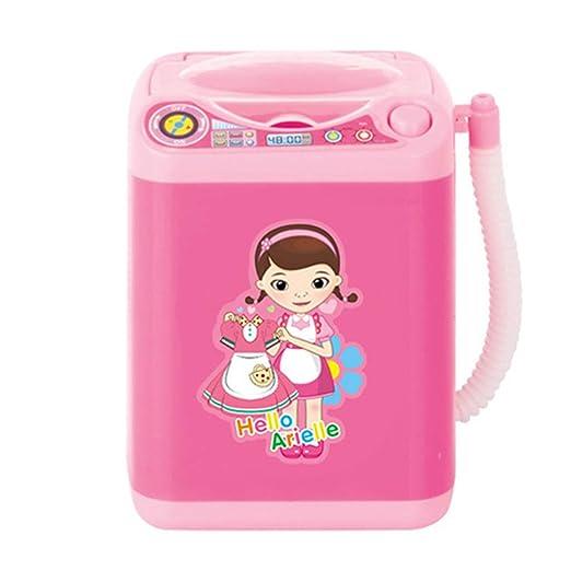 MIsha Toy Mini Washing Machine Maquillaje Automático Limpiador De ...