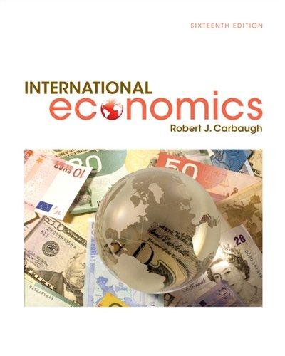1305507444 - International Economics