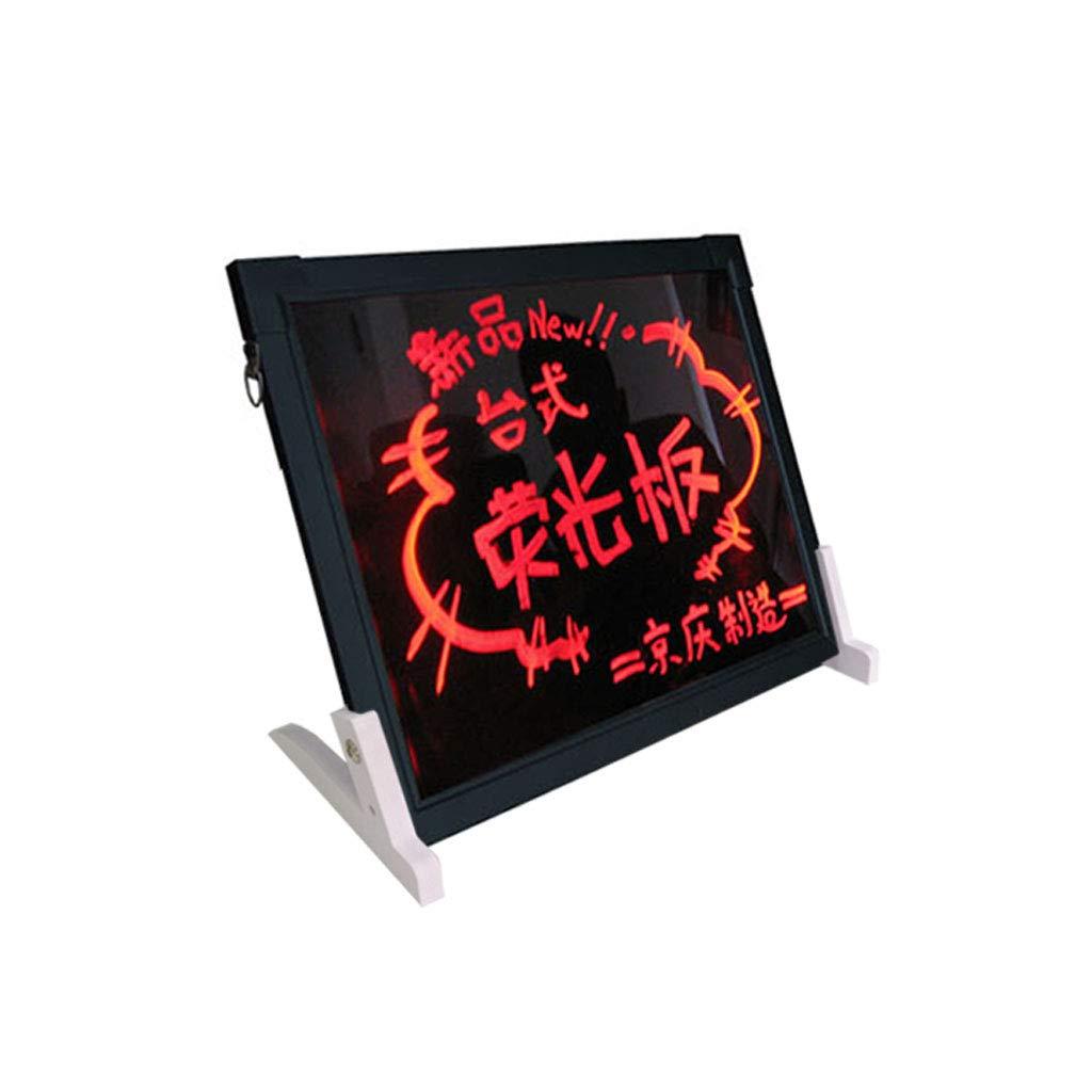 Mesurn JP デスクトップLed電子広告ボード、40 * 60クリエイティブ蛍光スクリーン、プロモーションディスプレイスタンド、手書きの電子ボード 40*60  B07N2NJYVD
