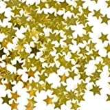 Christmas Family Party Supplies, Celebration Decorations, Presents, Family, Snowflakes, Father Christmas, Winter, Reindeer, Festive Season, Christmas Eve, Children (Gold Star Confetti)
