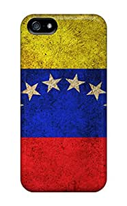 Fashion Protective Venezuela Flag Case Cover For Iphone 5/5s