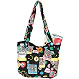 bingo supplies - Fashionable Quilted Bingo Bag w/ One Large and Three Small Interior Pockets