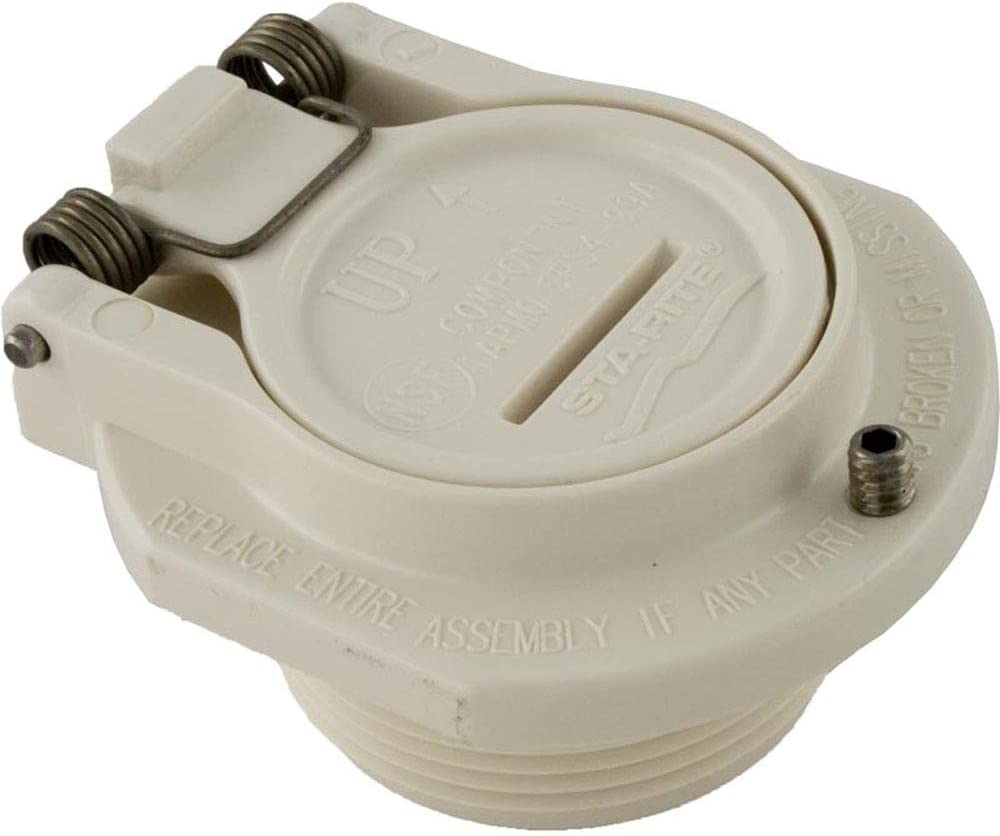 Pentair GW9530 Vac Port Snap-Lock Wall Fitting Replacement Pool and Spa Cleaner