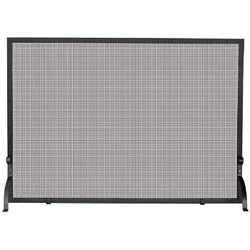 Uniflame, S-1154, Large Single Panel Olde World Iron Screen Finish Screen