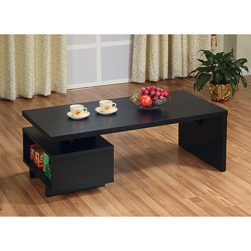 ZEN LIKE Coffe table Open-Cabinet by Furniture of America
