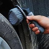 FidgetGear T-type Truck Car Motorcycle Wheel Tire Rim Hub Clean Wash Brush Cleaning Tool