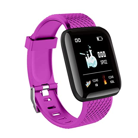 Amazon.com: Reloj inteligente deportivo Fitness 116plus ...