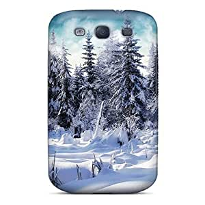 Defender Case With Nice Appearance (winter Forest) For Galaxy S3
