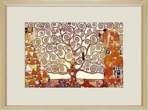Creative 3D Visual Effect Wall Mural The Tree of Life 1905 by Gustav Klimt Peel Stick Wall Decor