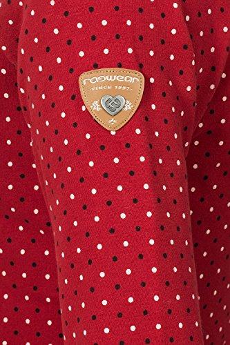 Ragwear - Sudadera con capucha - para mujer Rojo