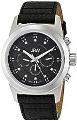 JBW Men's Swiss Quartz Leather Watch