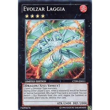 Yu-Gi-Oh! - Evolzar Laggia (CT09-EN011) - 2012 Collectors Tins - Limited Edition - Super Rare