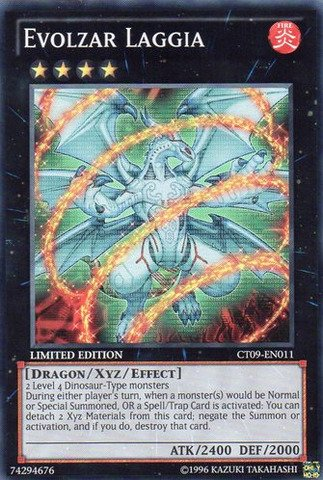 Yu-Gi-Oh-Evolzar-Laggia-CT09-EN011-2012-Collectors-Tins-Limited-Edition-Super-Rare