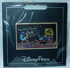 "2017 Disney ""Cars Land"" Halloween (Haul-o-ween) Annual Passholders Pin Limited Edition 1000"