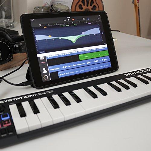 m audio keystation mini 32 ultra portable 32 key usb midi keyboard controller 6494318015858 ebay. Black Bedroom Furniture Sets. Home Design Ideas