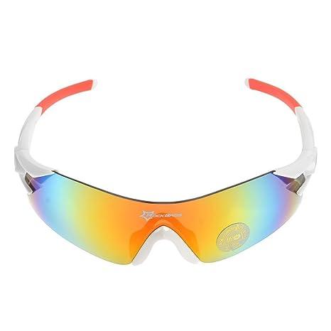 b47995d1d18 Hysenm Lunettes de Soleil Polarisé Revo Sans Monture Armature Protection  UV400 Verres Colorés Pour Pêche Vélo