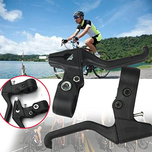 Auntwhale Bike Brake Lever Shifters Dual Control Speed Road Handle Left Right Bike Parts ( 1 Pair )