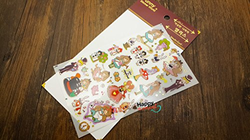9-types-funny-sticker-world-multi-stories-sticker-diary-deco-1-sheet-alice-in-wonderland