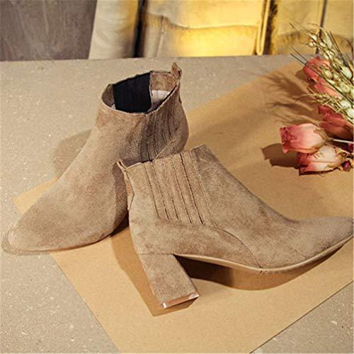 Alti Alti Alti Comfort JITIAN JITIAN JITIAN Stivali 39 Tacchi da Stivali Caviglia Scarpe Donna da Scarpa Lavoro Ginnastica r1z8qrw7x