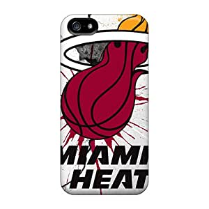 Durable Protector Case Cover With Miami Heat Hot Design For Iphone 5/5s
