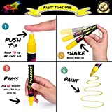 Chalk Markers by Vaci, Pack of 10 + Drawing