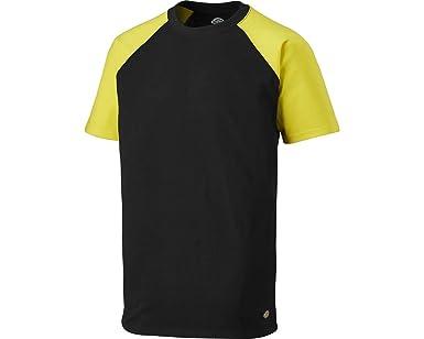 Dickies Footwear SH2007 100% algodón Dos Tonos Camiseta, Negro/Amarillo, Talla 3XL: Amazon.es: Industria, empresas y ciencia