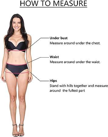 TUDUZ Bikinis Mujer Floral Top Traje De Baño Push Up Talle Alto Sujetador Tanga Braga Talla Grande S-5XL