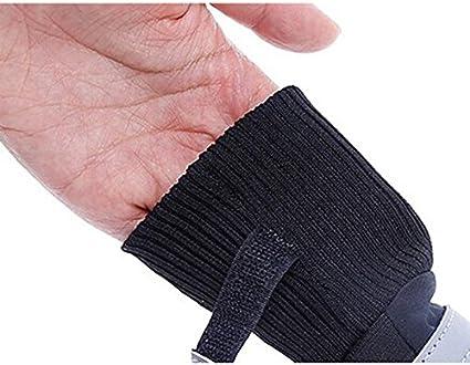 Pixnor Haute qualit/é Taille L Noir Lot de 4/chaussures imperm/éables antid/érapantes pour chien