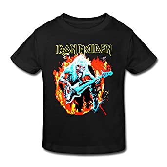 Fashion custom summer iron maiden 80 39 s rock for Amazon custom t shirts