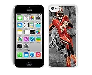 MMZ DIY PHONE CASEsammy watkins White Hard Plastic iphone 4/4s Phone Cover Case