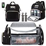 3 in 1 Diaper Bag Backpack with Changing