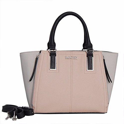 kenneth-cole-reaction-kn2046-free-bird-satchel-handbag-pale-bw-black
