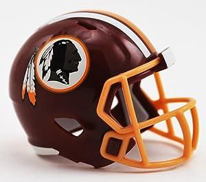 WASHINGTON REDSKINS NFL Riddell Speed POCKET PRO MICRO / POCKET-SIZE / MINI Football Helmet
