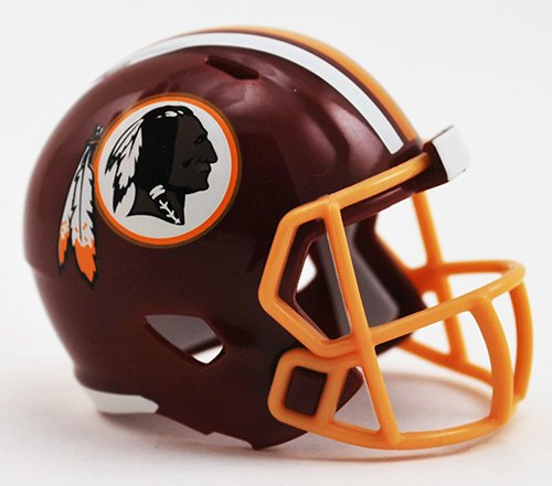 WASHINGTON REDSKINS NFL Cupcake / Cake Topper Mini Football Helmet by Unknown